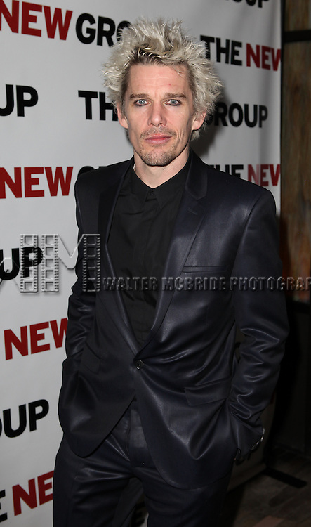 Ethan Hawke attending Opening Night Party for the New Group World Premiere production of 'Clive' at the West Bank Cafe  in New York City on 2/7/2013