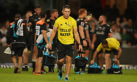 DURBAN, SOUTH AFRICA - APRIL 14: Braam van Straaten of the Cell C Sharks during the Super Rugby match between Cell C Sharks and Vodacom Bulls at Jonsson Kings Park Stadium on April 14, 2018 in Durban, South Africa. Photo: Steve Haag / stevehaagsports.com