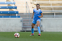 Bridgeview, IL - Saturday May 06, 2017: Sarah Gorden during a regular season National Women's Soccer League (NWSL) match between the Chicago Red Stars and the Houston Dash at Toyota Park. The Red Stars won 2-0.