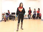Maija Garcia rehearsing for the touring company of 'FELA!'  at the Pearl Studios in New York City on 1/23/2013