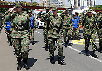 CALI-COLOMBIA , 20- 07-2017: Desfile Militar con motivo del 207 Aniversario de la Independencia de Nacional de Colombia relaizado en la ciudad de Cali. / Military Parade on the occasion of the 207th Anniversary of National Independence of Colombia that took place in Cali city. Photo: VizzorImage / Nelson Rios / Cont