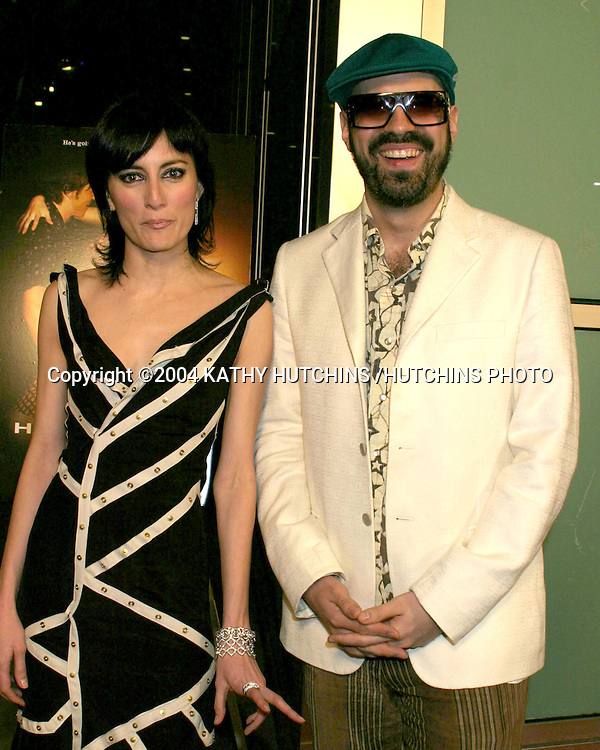 "©2004 KATHY HUTCHINS /HUTCHINS PHOTO.""DIRTY DANCING: HAVANA NIGHTS"" PREMIERE.LOS ANGELES, CA.FEBRUARY 24, 2004..YERBA BUENA"