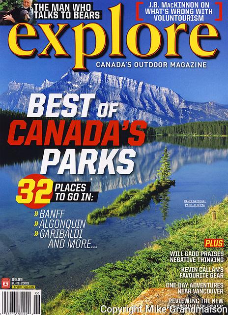 PRODUCT: Magazine<br /> TITLE: <br /> CLIENT: Explore