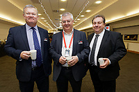 Pictured: Kevin Johns (R). Thursday 05 December 2019<br /> Re: CBN networking event at the Liberty Stadium, Swansea, Wales, UK.