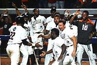 BARRANQUILLA- COLOMBIA, 9-01-2020: Los Gigantes ganaron a los Caimanes 4 carreras por cero y pasaron a la final de  la Liga Colombiana de Béisbol Profesional al ganar la serie 3-1. / <br /> The Gigantes won the Caimanes 4 runs by zero and went to the Colombian Professional Baseball League final by winning the 3-1 series. Photo: VizzorImage / Alfonso Cervantes / Contribuidor