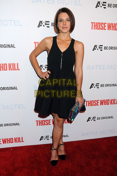 26 February 2014 - Hollywood, California - Paloma Kwiatkowski. &quot;Bates Motel&quot; Season 2 and &quot;Those Who Kill&quot; Premiere Party held at Warwick. <br /> CAP/ADM/BP<br /> &copy;Byron Purvis/AdMedia/Capital Pictures