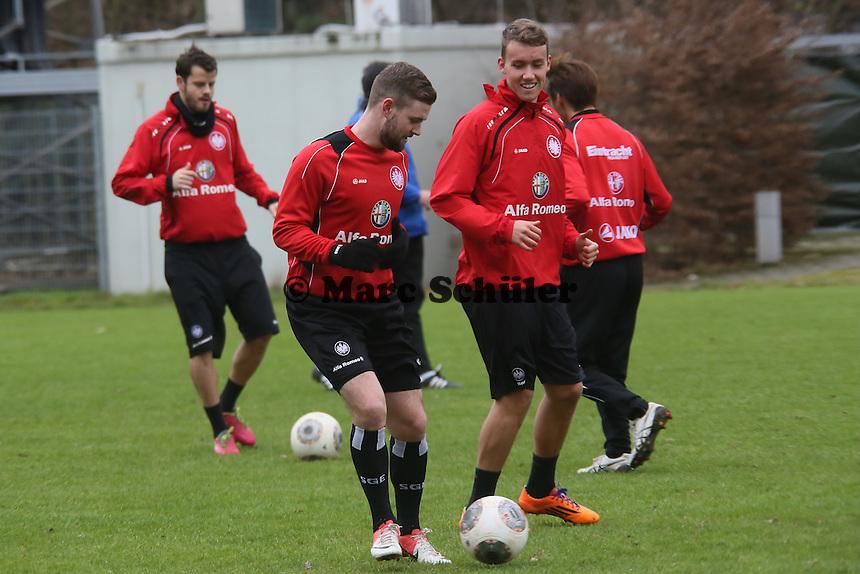 Marc Stendera und Marc-Oliver Kempff (Eintracht)