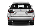 Straight rear view of 2019 Lexus RX Privilege-Line 5 Door SUV Rear View  stock images