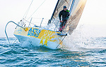 Training Session with Loïck Peyron onboard a Figaro Beneteau 3.<br />