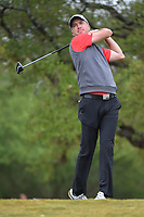 Martin Laird (SCO) watches his tee shot on 2 during Round 3 of the Valero Texas Open, AT&amp;T Oaks Course, TPC San Antonio, San Antonio, Texas, USA. 4/21/2018.<br /> Picture: Golffile   Ken Murray<br /> <br /> <br /> All photo usage must carry mandatory copyright credit (&copy; Golffile   Ken Murray)
