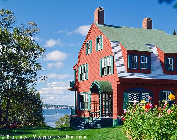FDR Residence, Campobello Island, New Brunswick, Canada