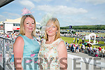 Enjoying the Listowel Races Ladies Day on Sunday were l-r  Noreen Flaherty, Lixnaw and Christina Buckley, Lixnaw.