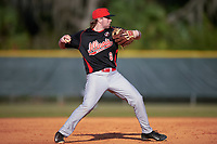Illinois State Redbirds shortstop Owen Miller (8) during a game against the Indiana Hoosiers on March 4, 2016 at North Charlotte Regional Park in Port Charlotte, Florida.  Indiana defeated Illinois State 14-1.  (Mike Janes/Four Seam Images)