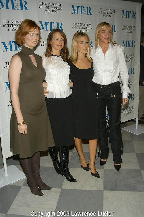 Cynthia Nixon, Kristin Davis, Sarah Jessica Parker, Cynthia Nixon