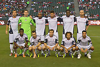 CARSON, CA – APRIL 30, 2011: Starting line up for New England Revolution for the match between Chivas USA and New England Revolution at the Home Depot Center, April 30, 2011 in Carson, California. Final score Chivas USA 3, New England Revolution 0.