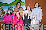 Ciara, Aisling and Maire Furlong with Clodagh, Doireann, Éabha and Kathleen Jordan, all from Dingle, enjoying the New Year's Eve fireworks in Dingle.