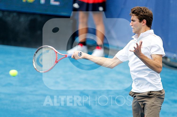 Gilles Simon during Madrid Open Tennis 2012 Match.May, 8, 2012(ALTERPHOTOS/ALFAQUI/Acero)