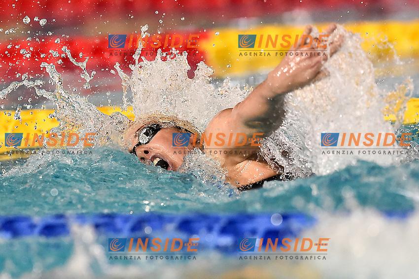 Aurora Ponsele Fiamme Oro<br /> 400 stile libero donne<br /> Stadio del Nuoto Riccione<br /> Campionati Italiani Nazionali Assoluti Nuoto Primaverili Fin <br /> Riccione Italy 19-04-2016<br /> Photo Andrea Staccioli/Deepbluemedia/Insidefoto