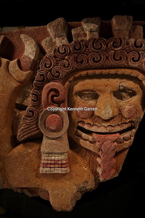 Greatest Aztecs, MM7677,  Mexico City, Mexico, NMAH,  Tenochtitlan, Aztec, Tomb of Ahuitzotl, Tlaltecuhtli, Stone, Earth Mother Goddess