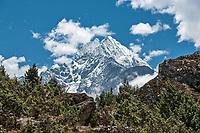 Mount Thamserku, Khumbu, Nepal