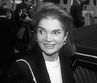 JaquelineKennedyOnassis 1991<br /> Photo By Adam Scull/PHOTOlink.net