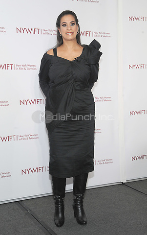 NEW YORK, NY - DECEMBER 13:  Maysoon Zayid attends the New York Women In Film and Television's Muse Awards 2018  on December 13, 2018 in New York City.  Credit: John Palmer/MediaPunch