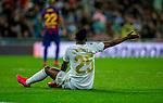 Real Madrid CF's Vinicius Jr reacts during La Liga match. Mar 01, 2020. (ALTERPHOTOS/Manu R.B.)
