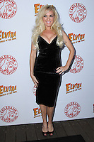 HOLLYWOOD, CA - OCTOBER 18: Bridget Marquardt attends the launch party for Cassandra Peterson's new book 'Elvira, Mistress Of The Dark' at the Hollywood Roosevelt Hotel on October 18, 2016 in Hollywood, California. (Credit: Parisa Afsahi/MediaPunch).