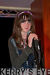 Paula Buckley from Clogherbrien singing at the Irish Music Rights Organization workshop at the Carlton hotel on Saturday.