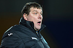 St Johnstone v Motherwell....25.02.14    SPFL<br /> Tommy Wright<br /> Picture by Graeme Hart.<br /> Copyright Perthshire Picture Agency<br /> Tel: 01738 623350  Mobile: 07990 594431