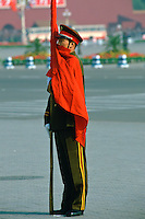 Honorary Guard of the Chinese army, Peking, China
