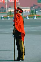 Honorary Guard of the Chinese army, Peking, China