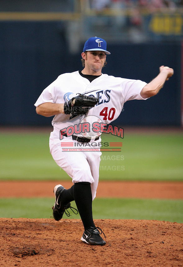 Norfolk Tides pitcher Royce Ring during the Triple-A All-Star Game at Fifth Third Field on July 12, 2006 in Toledo, Ohio.  (Mike Janes/Four Seam Images)