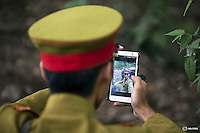 "An actor dressed as a Japanese World War Two army officer checks a picture of himself shot with a phone on the set of ""The Last Prince"" television series on location near Hengdian World Studios near Hengdian July 24, 2015. Hundreds of well-trained actors and other professionals are available at the Hengdian World Studios. The well-organised team coordinate complicated battle scenes to satisfy the huge appetite for productions about the war against Japan. Director Li Xiaoqiang said the series is about a Qing Dynasty prince, who joined the Chinese nationalist army after suffering family misfortune. ""After he learnt more about the Communist Party, the prince began to understand what real revolution and the anti-Japanese war meant, and turned to the Communist Party to fight Japan"", the director added. According to local media, more than 10 new movies, 12 TV dramas, 20 documentaries and 183 war-themed stage performances will be released in China to coincide with the 70th anniversary of the end of World War Two. REUTERS/Damir SagoljPICTURE 17 OF 28 FOR WIDER IMAGE STORY ""BEHIND THE SCENES OF A CHINESE WAR DRAMA"".SEARCH ""SAGOLJ STUDIO"" FOR ALL PICTURES.      TPX IMAGES OF THE DAY"