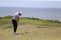 Lucas Bjerregaard (DEN) plays his 2nd shot on the 6th hole during Thursday's Round 1 of the Dubai Duty Free Irish Open 2019, held at Lahinch Golf Club, Lahinch, Ireland. 4th July 2019.<br /> Picture: Eoin Clarke | Golffile<br /> <br /> <br /> All photos usage must carry mandatory copyright credit (© Golffile | Eoin Clarke)