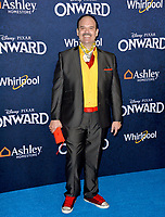 """LOS ANGELES, CA: 18, 2020: Mel Rodriguez at the world premiere of """"Onward"""" at the El Capitan Theatre.<br /> Picture: Paul Smith/Featureflash"""