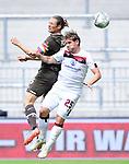 v.l. Daniel Buballa (St. Pauli), Oliver Sorg<br /> Hamburg, 17.05.2020, Fussball 2. Bundesliga, FC St. Pauli - 1. FC Nuernberg <br /> Foto: Tim Groothuis/Witters/Pool/via Kokenge/nordphoto