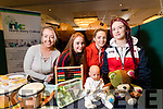 Pictured at the Kerry ETB Further Education and Training Fair at the Brandon Hotel, Tralee, on Wednesday morning last were l-r: Jessica Mackey, Kerrie Murphy, Colette Foley and Eimear Ward, who are studying Childcare and Special Needs course at the Kerry College of Further Education, Clash, Tralee.