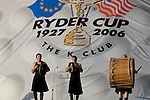Closing Ceremony of the 2006 Ryder Cup at The K Club..Photo: Eoin Clarke/Newsfile.