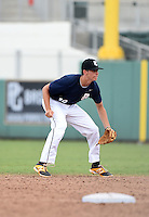 Joshua Lowe of Pope High School in Marietta, Georgia during the Perfect Game National Showcase on June 19, 2015 at JetBlue Park at Fenway South in Fort Myers, Florida.  (Mike Janes/Four Seam Images)  ** PHOTO RESTRICTIONS - no trading card usage **