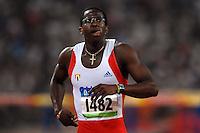 Dayron Robles, Cuba, Ladji Doucoure, France, Men's 110 Hurdles.National Stadium - Bird Nest - Atletica Leggera.Pechino - Beijing 20/8/2008 Olimpiadi 2008 Olympic Games.Foto Andrea Staccioli Insidefoto