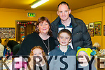Moyvane ICA Family Fun Day: Attending the Moyvane ICA family fun day at The Marian Hall, Moyvane on Sunday Last were Caoimhe, Diarmuid Og & Jack with their parents Aisling & Dermot O'Connor.