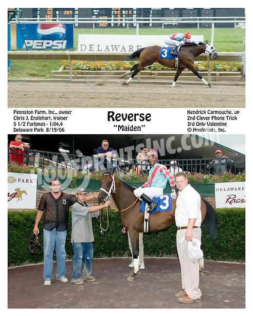Reverse winning at Delaware Park on 8/19/06