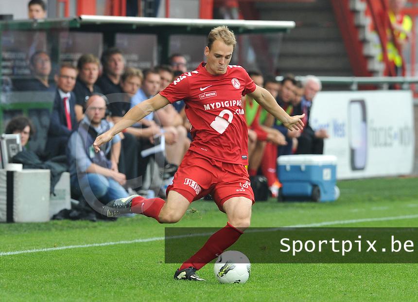 KV Kortrijk - RSC Anderlecht : Brecht Capon.foto David Catry / VDB /