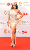 Katya Jones at the Virgin TV British Academy (BAFTA) Television Awards 2018, Royal Festival Hall, Belvedere Road, London, England, UK, on Sunday 13 May 2018.<br /> CAP/CAN<br /> &copy;CAN/Capital Pictures