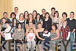 BIRTHDAY: Leona Moloney, Coolick, Kilcummin (seated 2nd from left) celebrates her 21st birthday with her family and friends in the Dromhall Hotel, Killarney, on Saturday night..