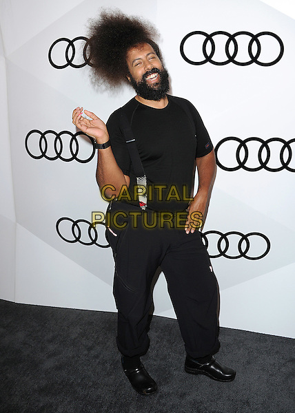WEST HOLLYWOOD - SEPTEMBER 15:  Reggie Watts at Audi Celebrates The 68th Emmys at Catch on September 15, 2016 in West Hollywood, California. <br /> CAP/MPI99<br /> &copy;MPI99/Capital Pictures