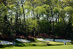AUGUSTA, GA: APRIL 10 - Jason Day of Australia hits off the first fairway during the first round of the 2014 Masters held in Augusta, GA at Augusta National Golf Club on Thursday, April 10, 2014.. (Photo by Donald Miralle)