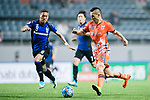Jeju United Forward Marcelo Toscano (R) in action during the AFC Champions League 2017 Group H match Between Jeju United FC (KOR) vs Gamba Osaka (JPN) at the Jeju World Cup Stadium on 09 May 2017 in Jeju, South Korea. Photo by Marcio Rodrigo Machado / Power Sport Images
