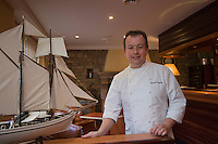 "Europe/France/Bretagne/22/Côtes d'Armor/ Perros Guirec: Danikel Jaguin chef du restaurant ""La Clarté"""